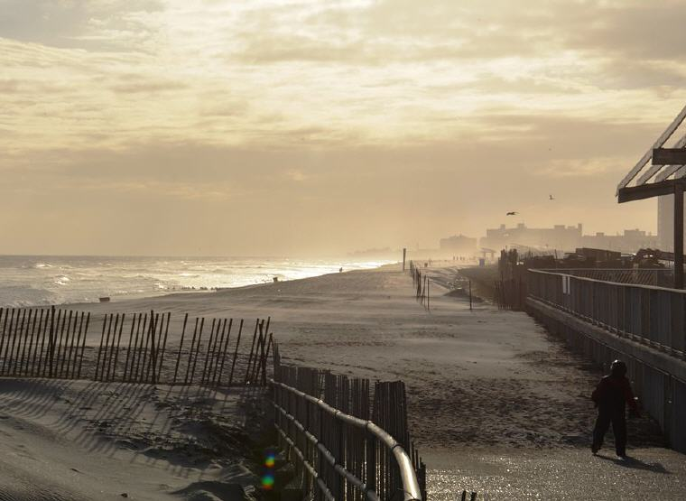 Rockaway Beach in Queens, New York City, Photo credit: Wikipedia