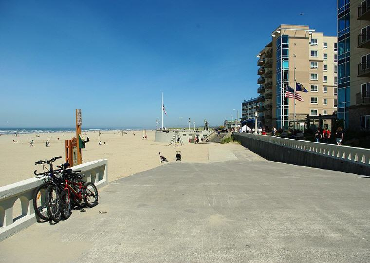 Seaside, Oregon, Credit: Wikipedia, Top domestic summer vacation destinations U.S. 2017