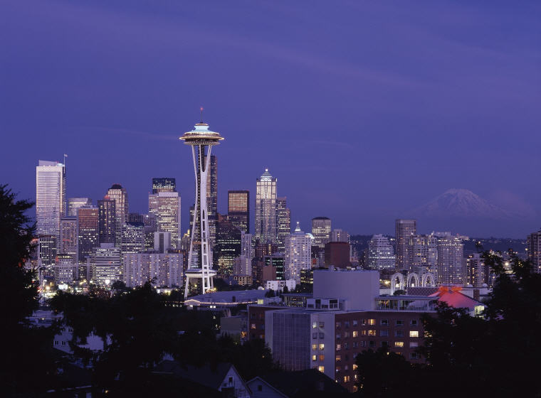 The Space Needle, Seattle, Washington, Credit: skeeze, Top 50 summer vacation destinations in U.S.