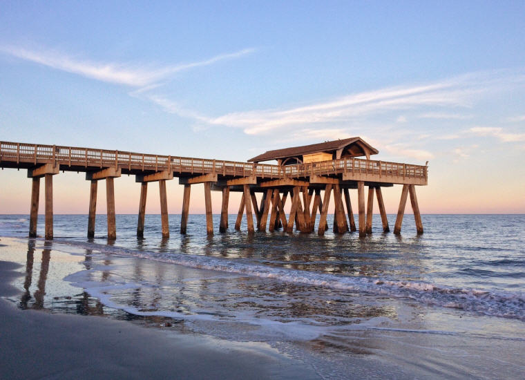 Tybee Island, Georgia, Credit: Wokandapix, Top domestic summer vacation destinations U.S. 2017