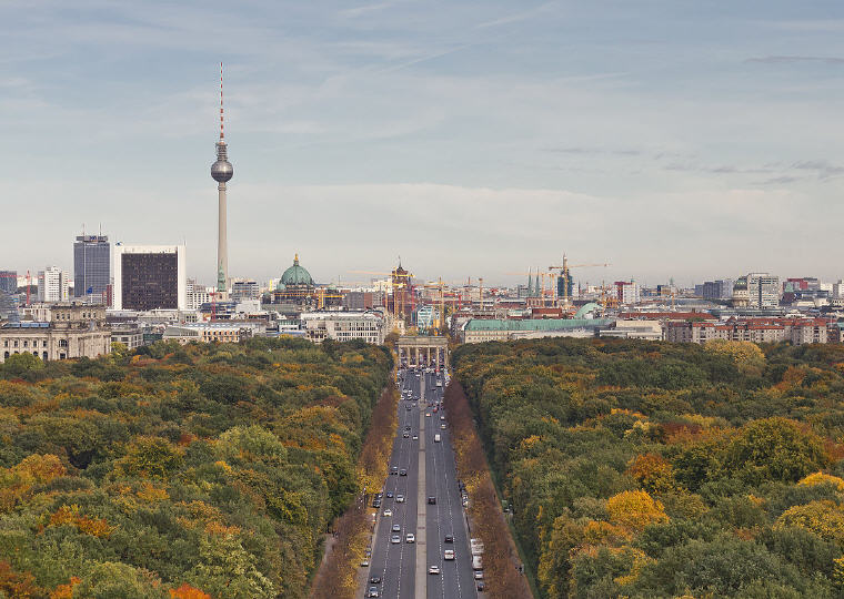 Berlin, Germany, Most affordable points of entry to each continent, Photo credit: Wikipedia