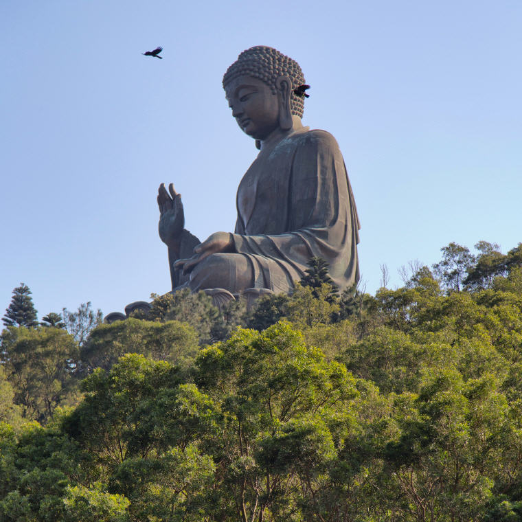 Big Buddha, Hong Kong, KrisFlyer USD100 Stopover Redemption