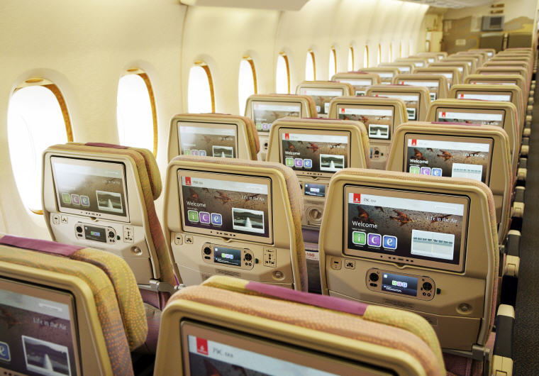 Photo credit: Emirates, Award-winning ICE system