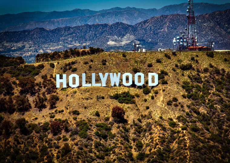 Hollywood, Los Angeles, US, Most affordable points of entry to each continent, Photo credit: David Mark