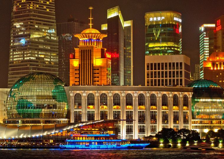 Shanghai Skyline, China, 8 destinations with greatest price drop 2016-2017