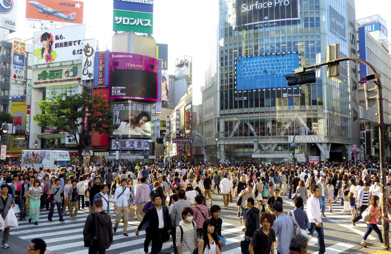 Shibuya, Tokyo, Top 10 International Travel Destinations for U.S. Travelers