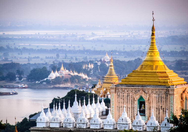 Mandalay, Myanmar, Destinations for weekend getaways that are just under 4 hours to get to from Singapore, Photo credit: Jörg Peter