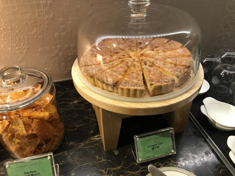 Cake, Buffet, Suites Class, SilverKris Lounge, Hong Kong
