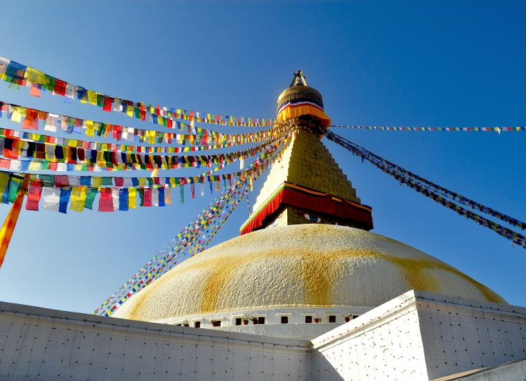 Boudhanath, Kathmandu, Nepal, Photo by Dipesh KC, Unsplash