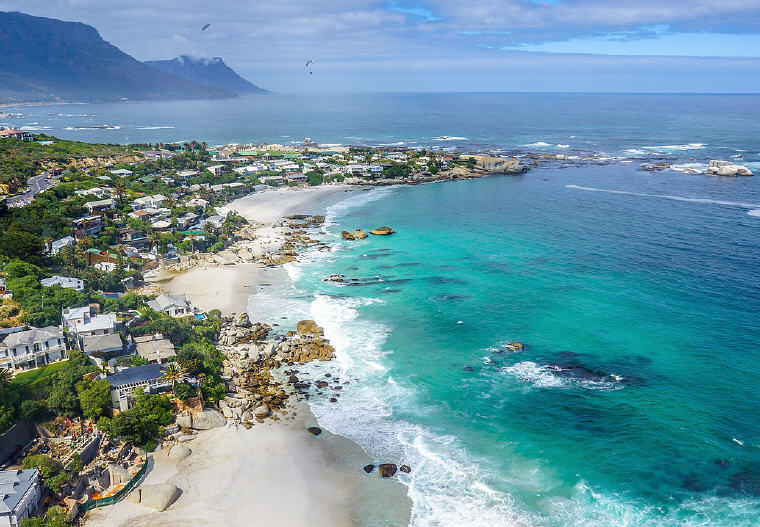 Clifton Beach, Cape Town, South Africa, Photo by SkyPixels, Wikipedia, 10 emerging hottest destinations to visit in 2018