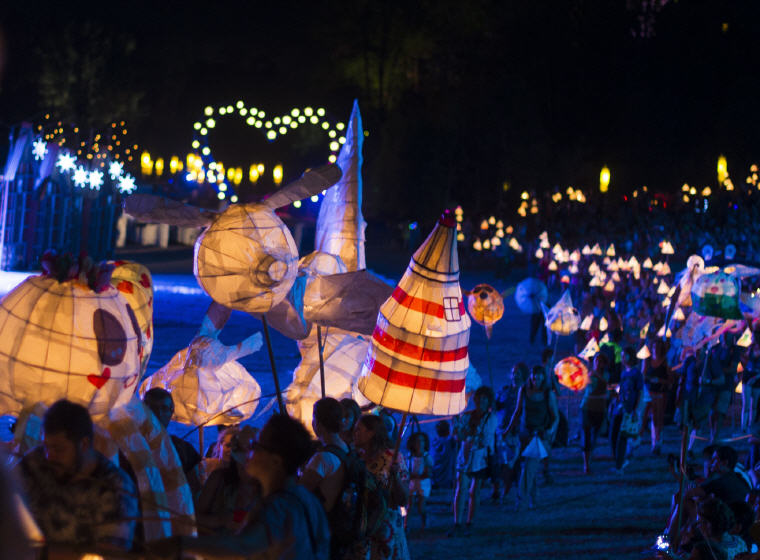 Lantern Parade, Woodford Folk Festival, Photo by Woodford Folk Festival, 12 not to miss Queensland events in 2018