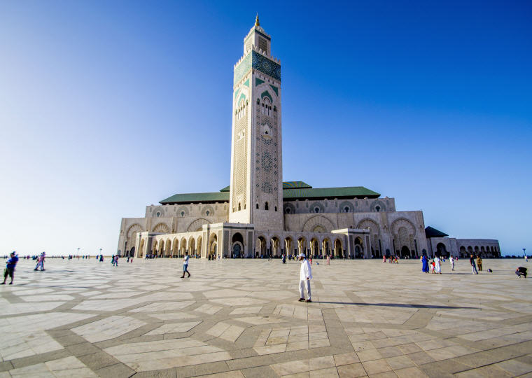 Mosque Hassan II, Casablanca, Morocco, Photo by Mohammed Mekssi, 10 emerging hottest destinations to visit in 2018