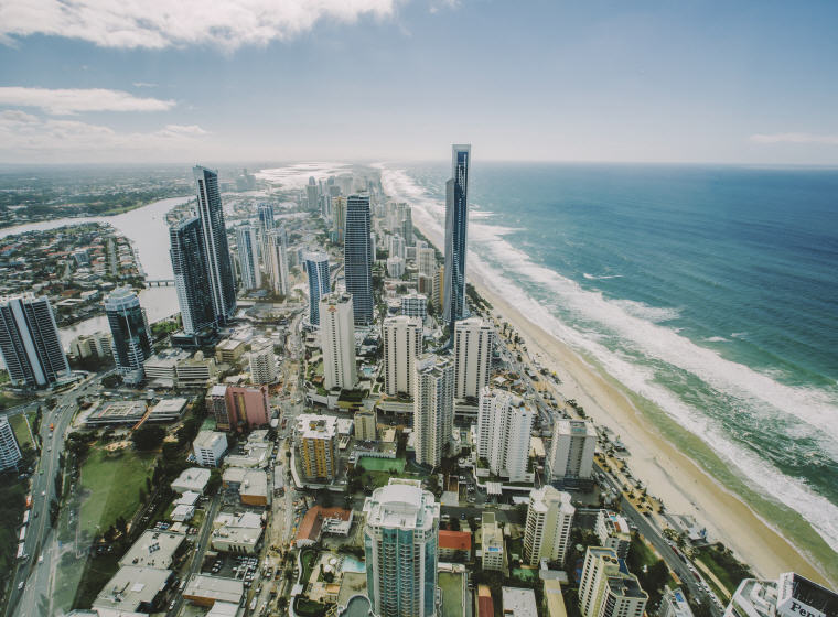 Q1 SkyPoint Climb, Gold Coast, QLD, Photo by Tourism Australia