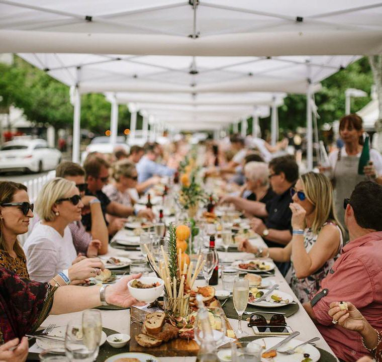 The Long Lunch on Hastings Street, Noosa Food and Wine Festival, Photo credit: @noosafoodandwine, 12 not to miss Queensland events in 2018