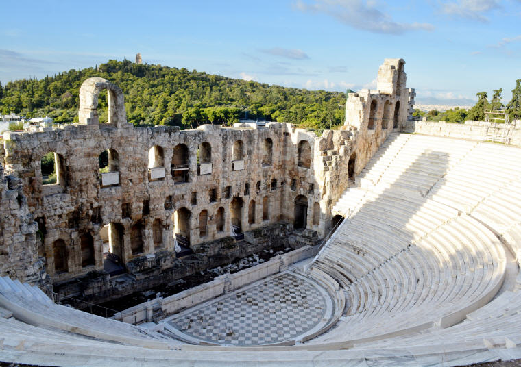 The Odeon of Herodes Atticus, Athens, Greece, Photo by Michel, 10 emerging hottest destinations to visit in 2018