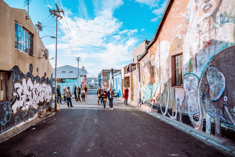 Woodstock Street Art and Graffiti, Woodstock, Cape Town, South African, Photo by Craig Howes, Cape Town Tourism