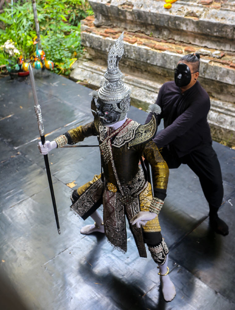 Puppeteer and demon puppet in action at the Artist's House in Bangkok, What to Do in Bangkok: 5 Insider's Tips by Local Experts