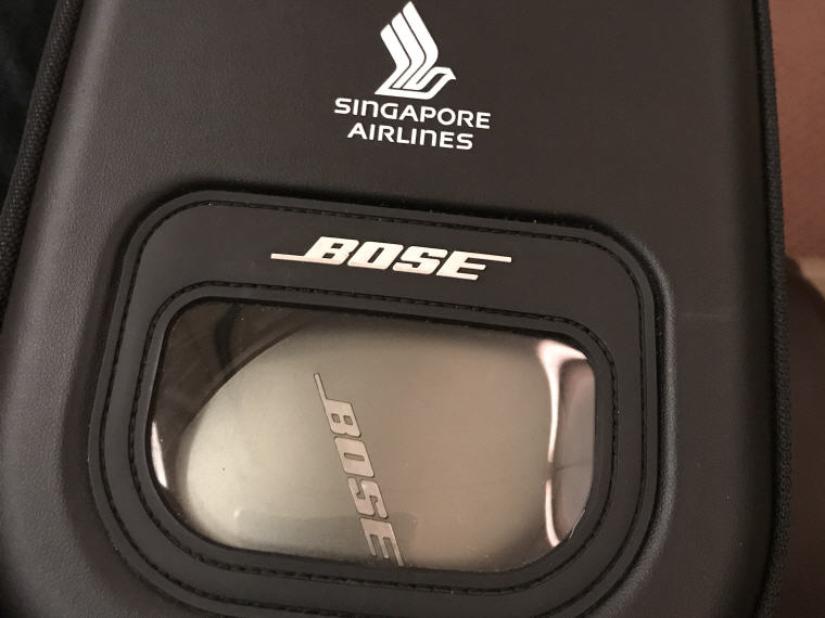 BOSE Headphone, SQ 231 A380 Suites Class Experience Singapore - Sydney