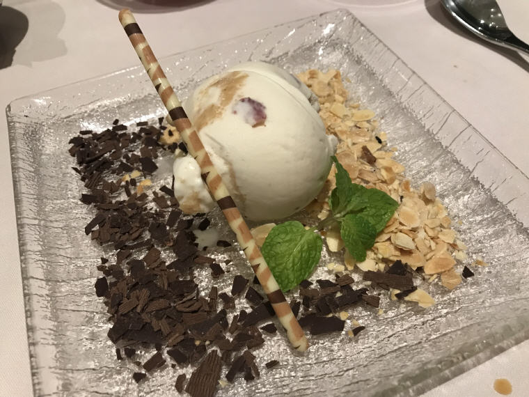 Chocolate Chip Cookie Dough, Dessert, The Private Room, Changi Airport Terminal 3, SQ 231 A380 Suites Class Experience