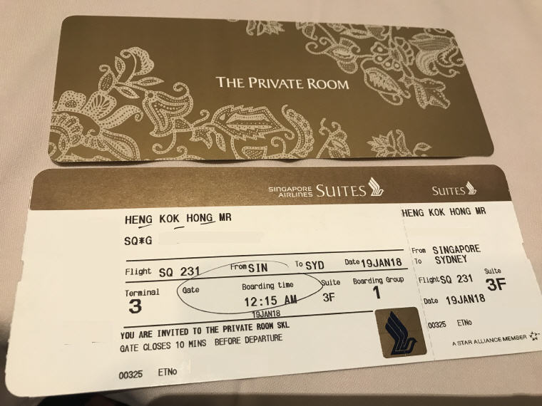 SQ 231 A380 Suites Class Experience Singapore to Sydney