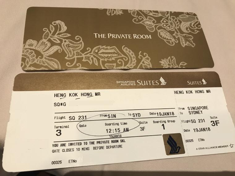 SQ 231 A380 Suites Class Experience Singapore - Sydney