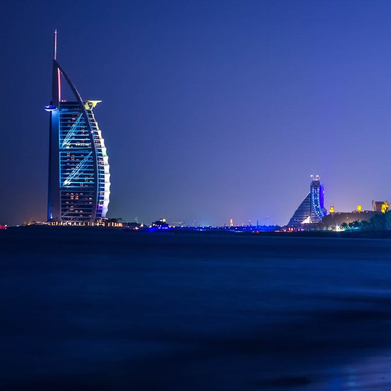 Burj Al Arab, Dubai, United Arab Emirates, Best rated destinations 2018, Photo credit: muneebfarman