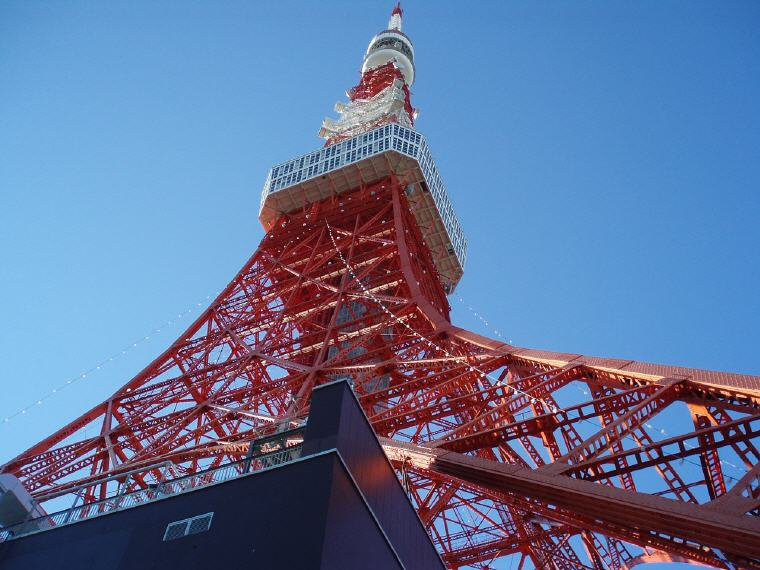 Tokyo Tower, Tokyo, Japan, best rated destinations 2018, Photo credit: junchai