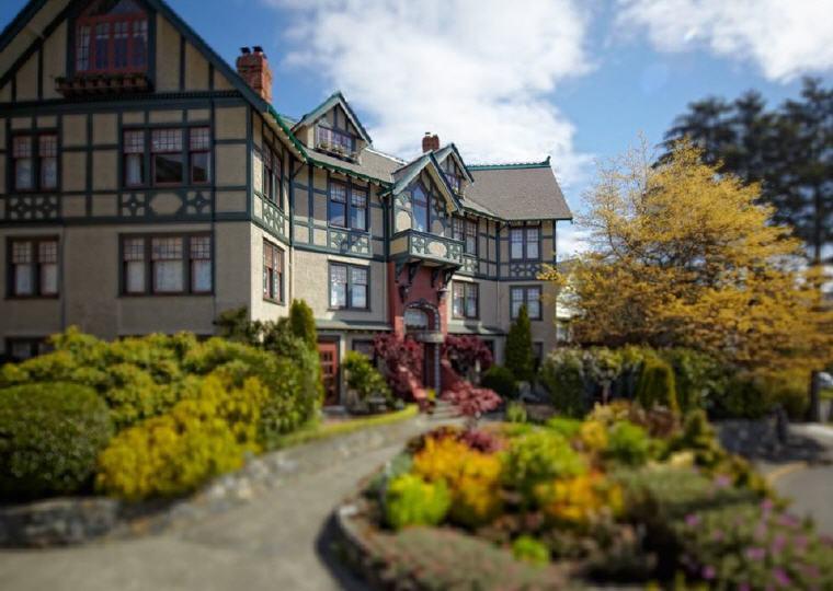Abigail's Hotel, Victoria, British Columbia, Top 25 Romantic Hotels 2018