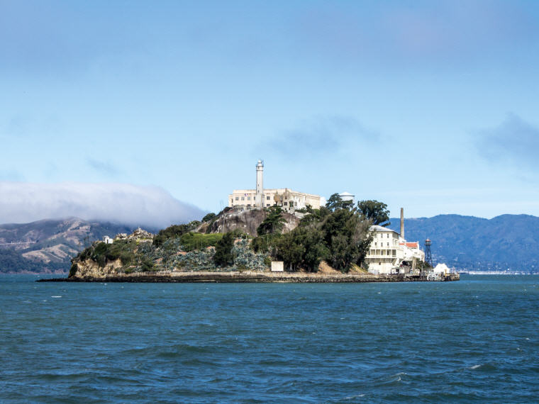 Alcatraz Island, San Francisco, California, 25 top landmarks world 2018, Photo credit: Bettina Damgaard