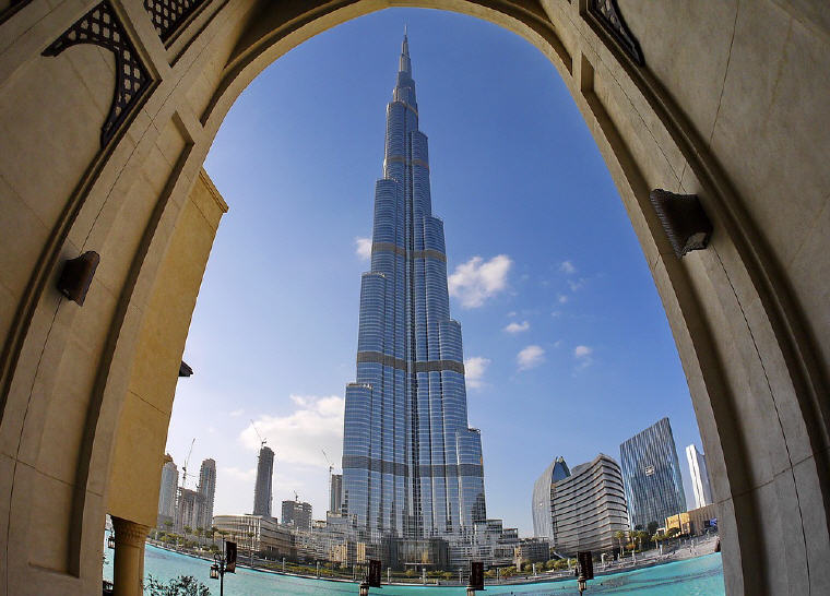 Burj Khalifa, Dubai, United Arab Emirates, 25 top landmarks world 2018, Photo credit: Hans-Jürgen Schmidt