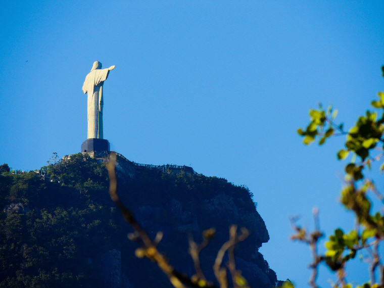 Corcovado Christ the Redeemer, Rio de Janeiro, Brazil, 25 top landmarks world 2018, Photo credit: Aline