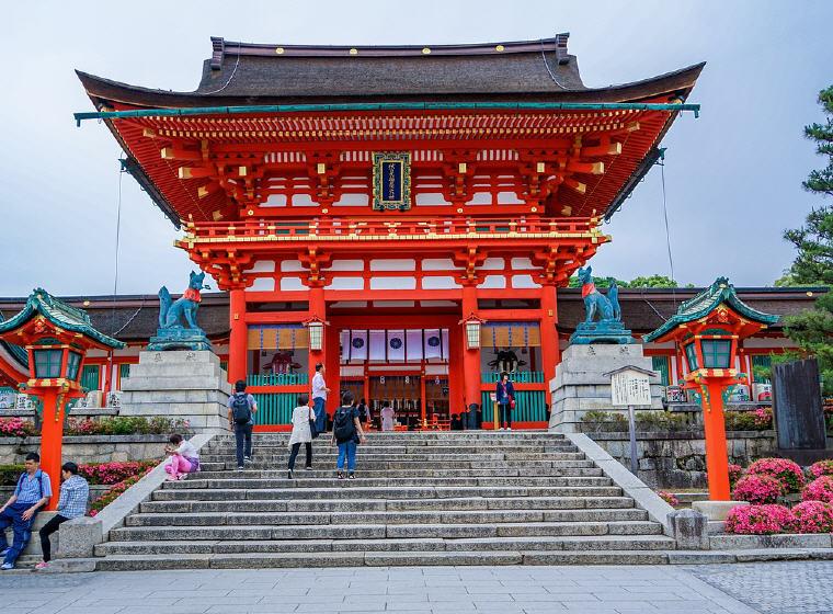 Fushimi Inari-taisha Shrine, Kyoto, Japan, 25 top landmarks world 2018, Photo credit: Michelle Maria