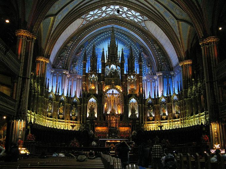 Notre-Dame Basilica, Montreal, Quebec, Top 25 landmarks world 2018, Photo credit: Fedor Ouspenski