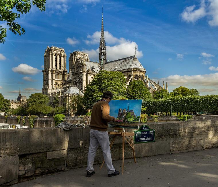 Notre Dame Cathedral, Paris, France, 25 top landmarks world 2018, Photo credit: edmondlafoto