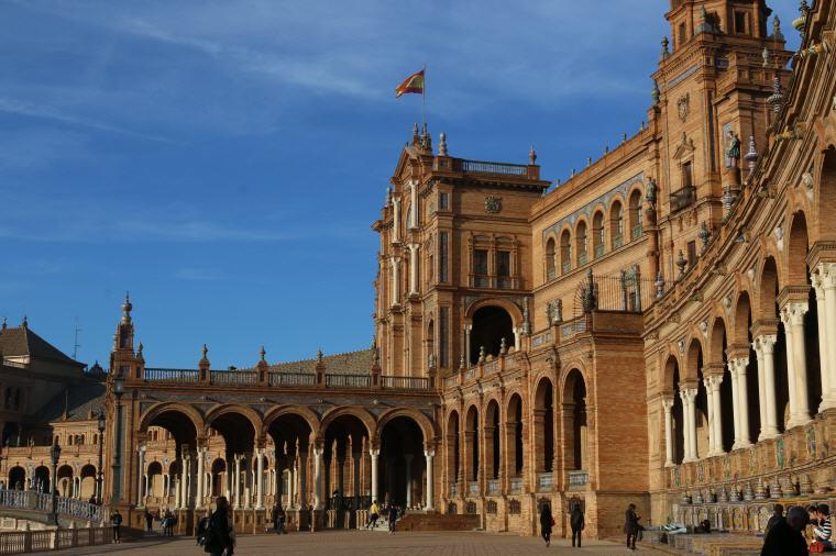 Plaza de Espana, Seville, Spain, 25 Top landmarks world 2018, Photo credit: 성실 성