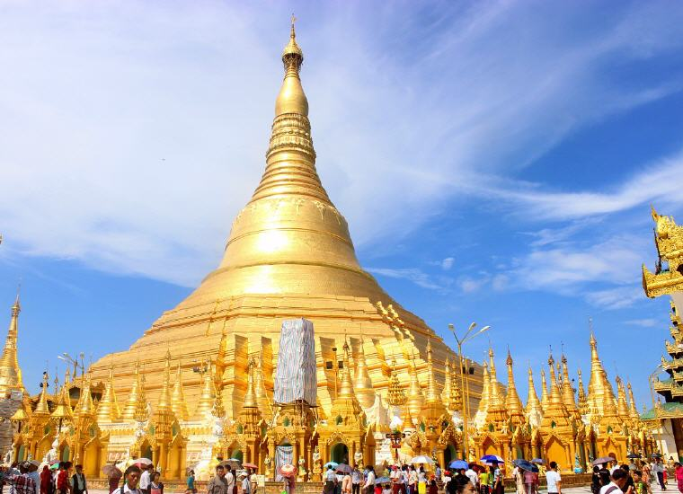Shwedagon Pagoda, Yangon (Rangoon), Myanmar, 25 top landmarks world 2018, Photo credit: 835450