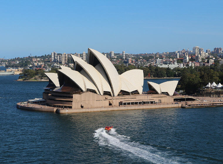 Sydney Opera House, Sydney, Australia, 25 top landmarks world 2018, Photo credit: Wikimedia Commons
