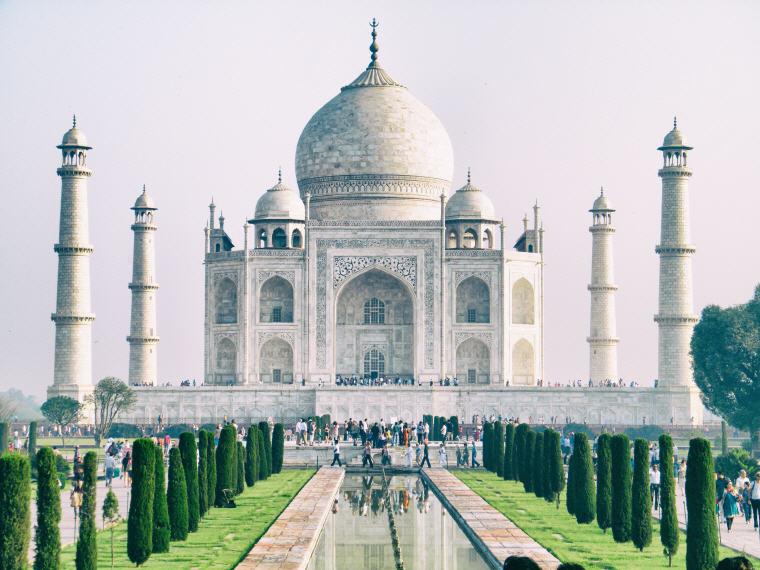 Taj Mahal, Agra, India, 25 top landmarks world 2018, Photo credit: Vijay Dhankhar