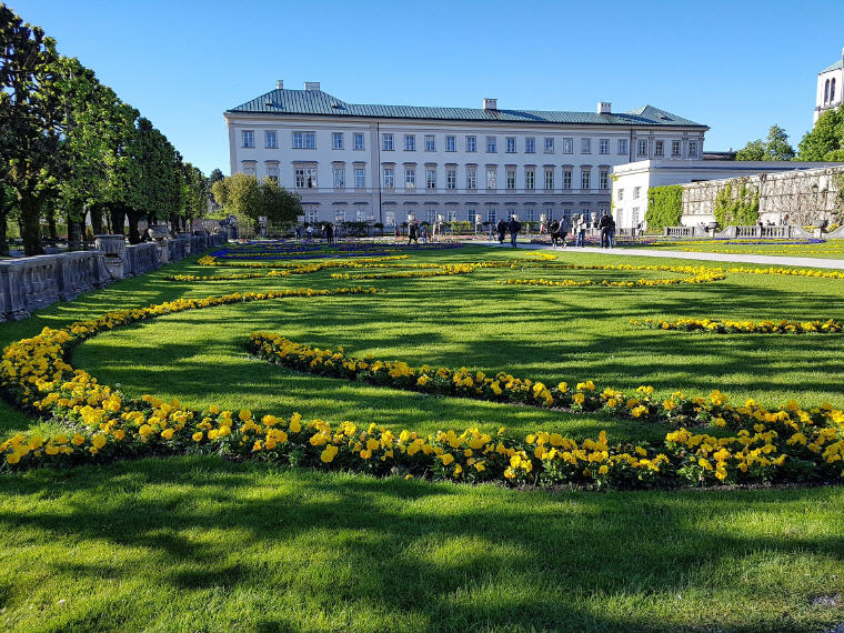 The Original Sound of Music Tour in Salzburg, Mirabell Gardens, Photo credit: Soojeong LEE
