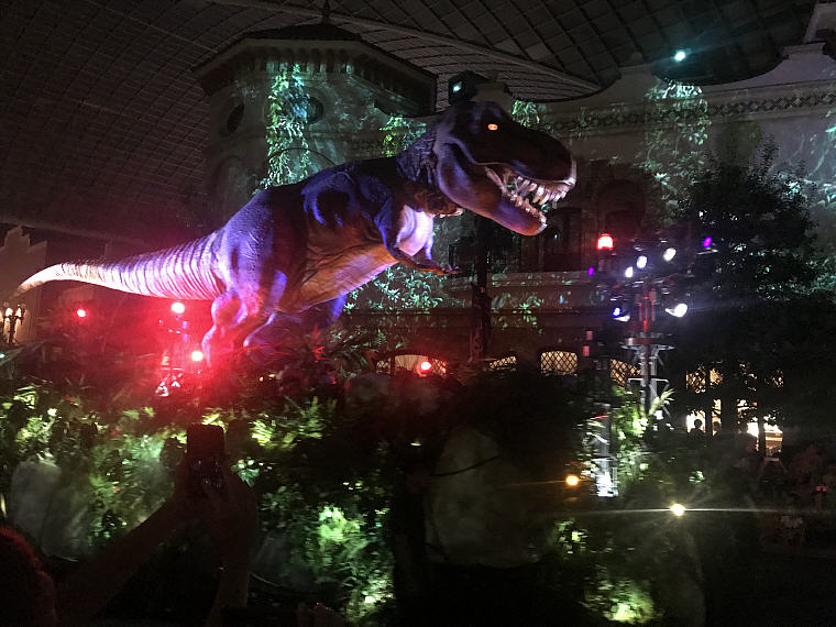 JURASSIC WORLD, Night Parade, Universal Studio Osaka