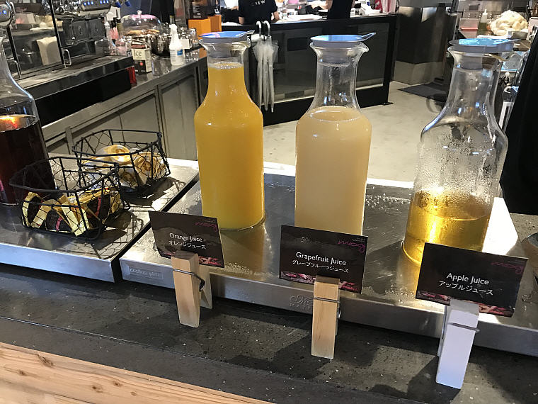 Juices, Breakfast, MOXY Osaka Honmachi by Marriott, Japan