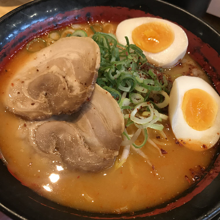 Ramen, Four Heavenly King Ramen Noodle Bar, 6 Days 5 Nights Osaka, Kyoto and Tokyo Trip