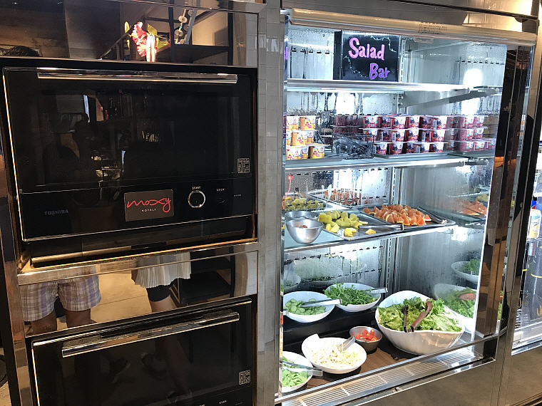 Salad Bar, Breakfast, MOXY Osaka Honmachi by Marriott