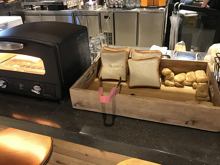 The small breads which I like, MOXY Osaka Honmachi by Marriott, Osaka, Japan