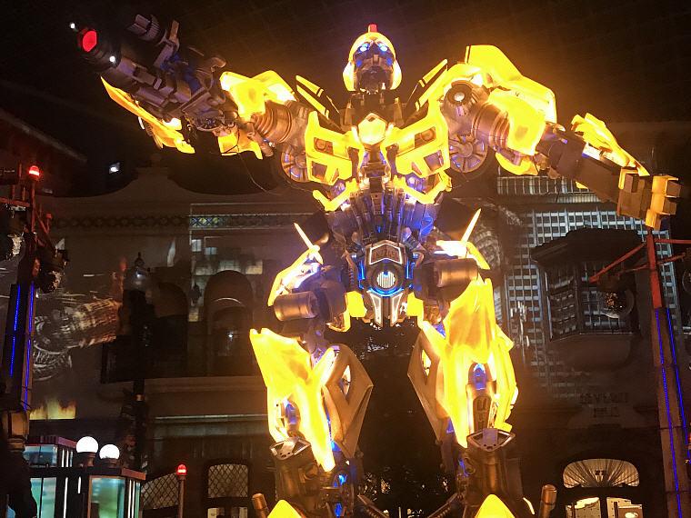 Transformers, Night Parade, Universal Studio Osaka