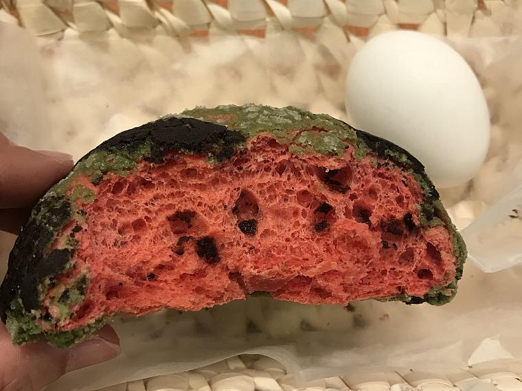 Does it look like a watermelon?