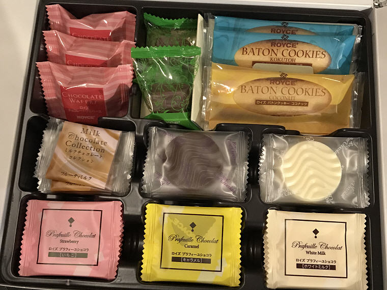 ROYCE Chocolates and Cookies, Narita Airport