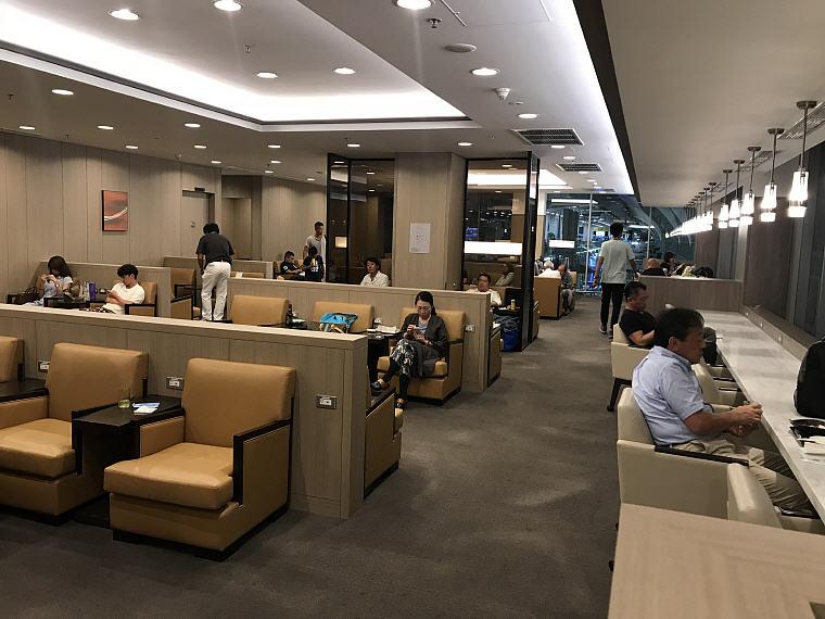 Sitting Area, Sakura Lounge, Bangkok Suvarnabhumi Airport