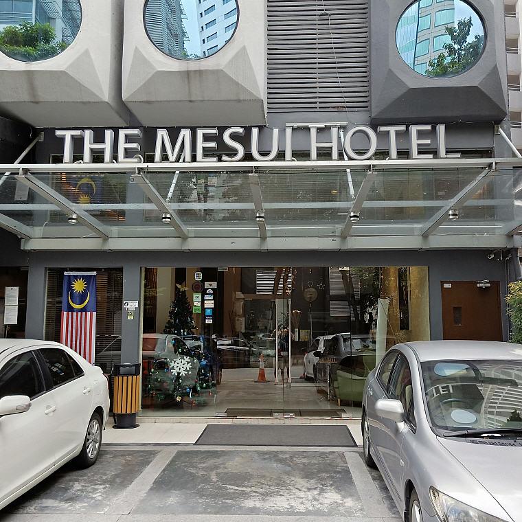 The Mesui Hotel, Bukit Bintang, KL, Malaysia