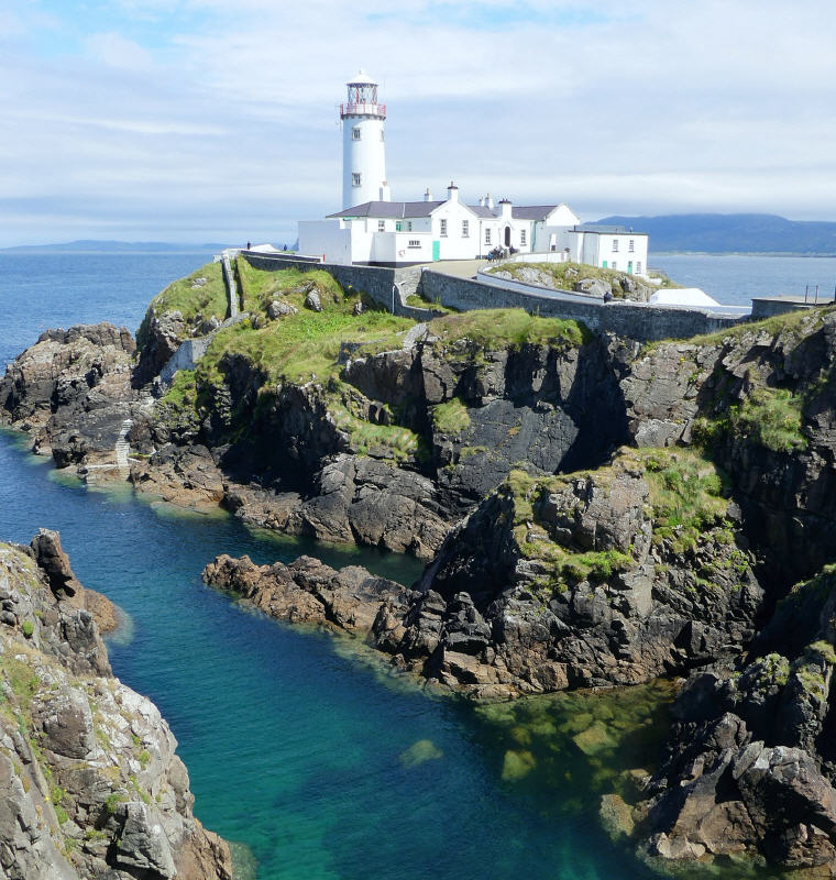 Fanad Head Lighthouse, Donegal, Ireland Road Trip Guides, European Road Trip Guides